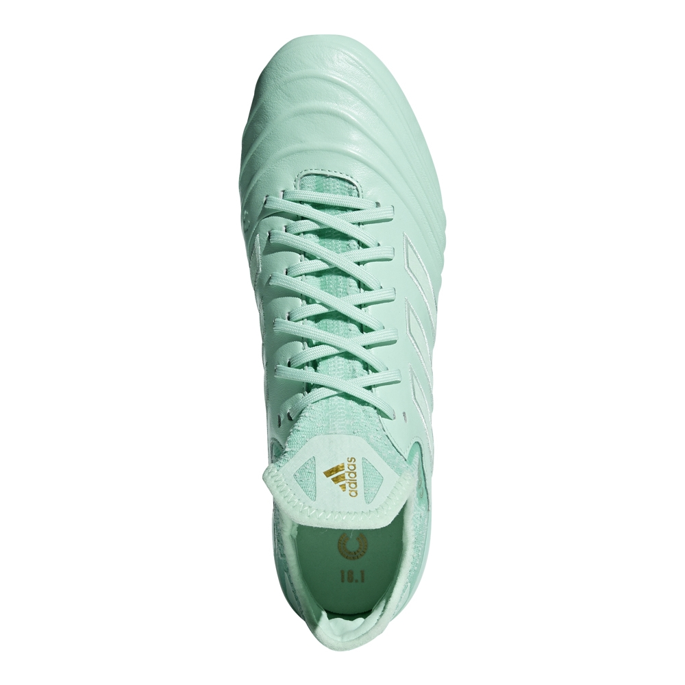 newest collection ab01b c1838 Adidas Copa 18.1 FG Soccer Cleats (Clear MintGold Metallic)