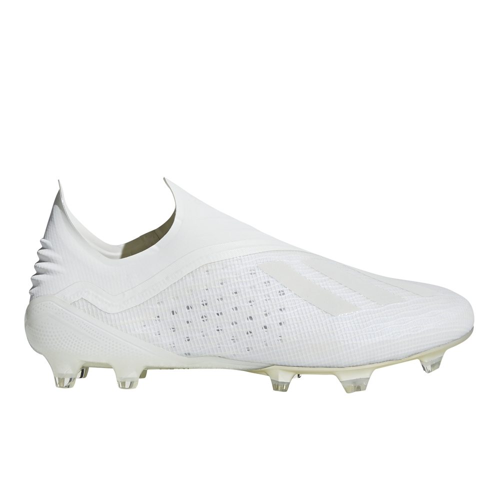 Adidas X 18+ FG Soccer Cleats (Off WhiteBlack)