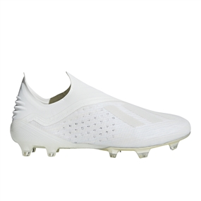 Adidas X 18+ FG Soccer Cleats (Off White/Black)