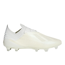 Adidas X 18.1 FG Soccer Cleats (Off White/White/Black)