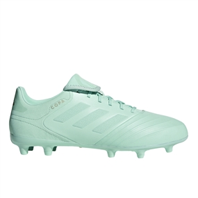 Adidas Copa 18.3 FG Soccer Cleats (Clear Mint/Metallic Gold)