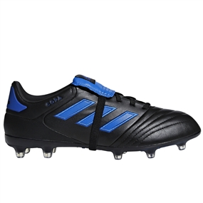 Adidas Copa Gloro 17.2 FG Soccer Cleats (Core Black/Football Blue)