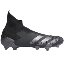 Adidas Predator Mutator 20+ FG Soccer Cleats (Core Black/Dark Grey Heather/Solid Grey)