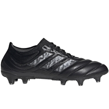 Adidas Copa 20.1 FG Soccer Cleats (Core Black/Night Metallic)