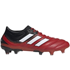 Adidas Copa 20.1 FG Soccer Cleats (Active Red/White/Core Black)