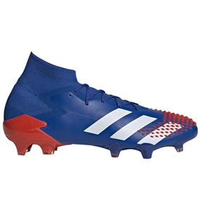 Adidas Predator Mutator 20.1 FG Soccer Cleats (Team Royal Blue/White/Active Red)