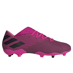 Adidas Nemeziz 19.2 FG Soccer Cleats (Shock Pink/Core Black)