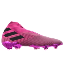 Adidas Nemeziz 19+ FG Soccer Cleats (Shock Pink/Core Black)