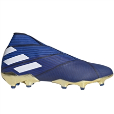 Adidas Nemeziz 19+ FG Soccer Cleats (Football Blue/White/Core Black) | Adidas F34406