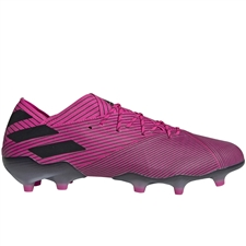 Adidas Nemeziz 19.1 FG Soccer Cleats (Shock Pink/Core Black)