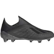 Adidas X 19+ FG Soccer Cleats (Core Black/Utility Black/Grey Four)