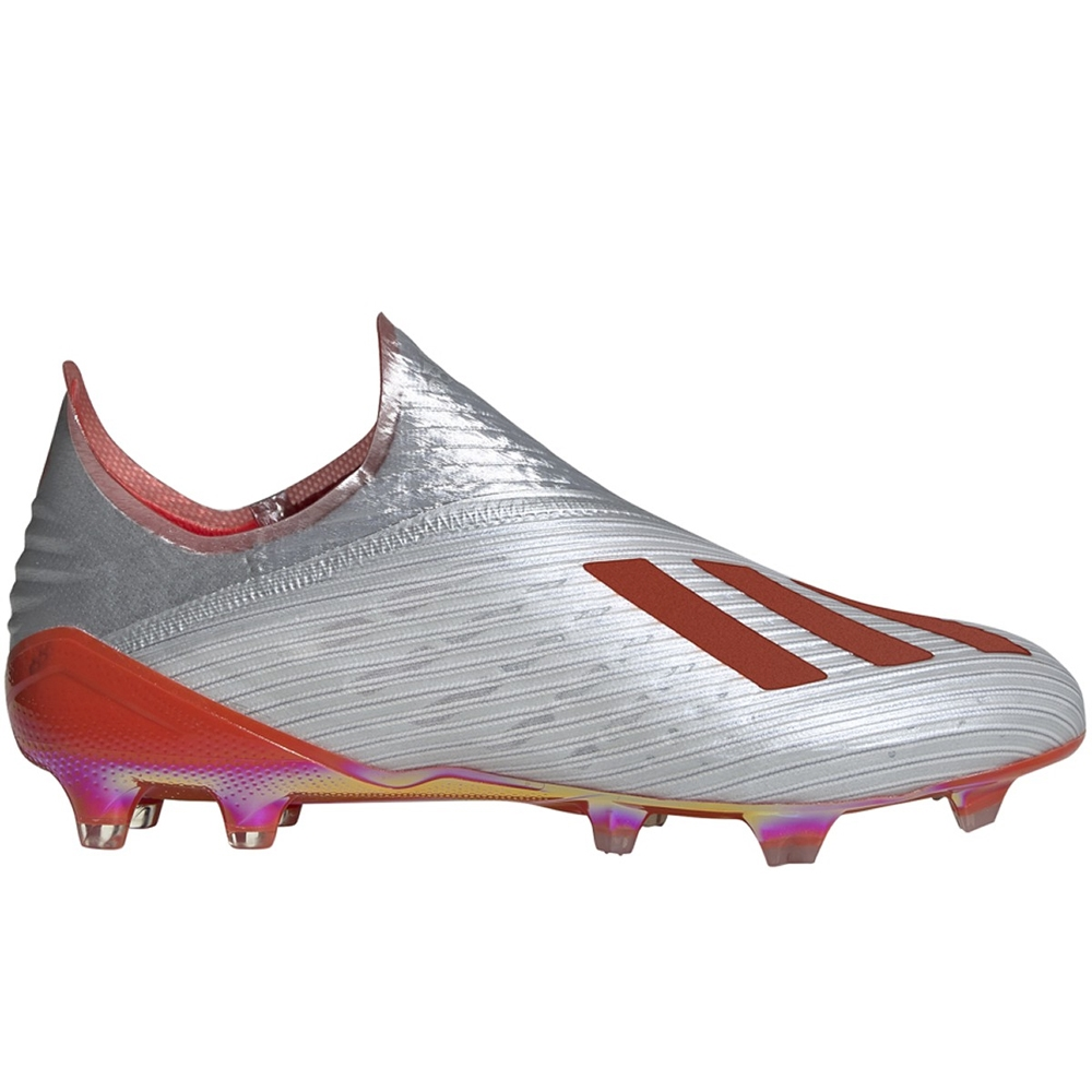 4e4744fa728 Adidas X 19+ FG Soccer Cleats (Silver Metallic Hi-Res Red White ...
