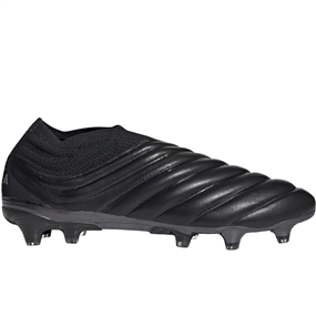 Adidas Copa 19+ FG Soccer Cleats (Core Black/Silver Metallic)