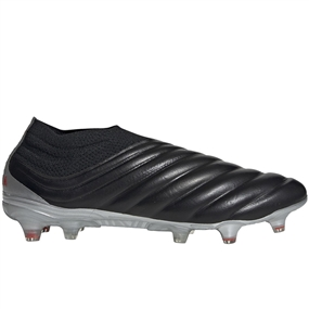 Adidas Copa 19+ FG Soccer Cleats (Core Black/Hi-Res Red/Silver Metallic)