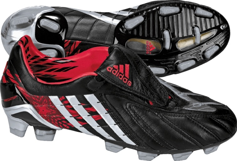 sneakers for cheap buy classic Adidas Predator PowerSwerve TRX FG CL STAR (Black/MtlcSilver/Red)