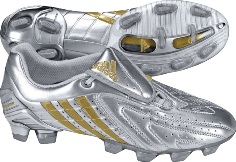 good 100% high quality various design Adidas Predator PowerSwerve DB TRX FG (Silver/Gold/Gold)