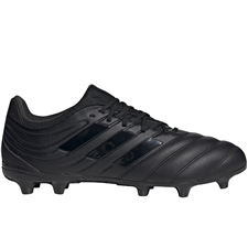 Adidas Copa 20.3 FG Soccer Cleats (Core Black/Night Metallic)
