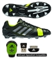 Adidas Soccer Cleats | FREE SHIPPING | Q33671 | Adidas Nitrocharge 2.0 TRX FG Soccer Cleats (Black/Metalic Silver/Electricity)