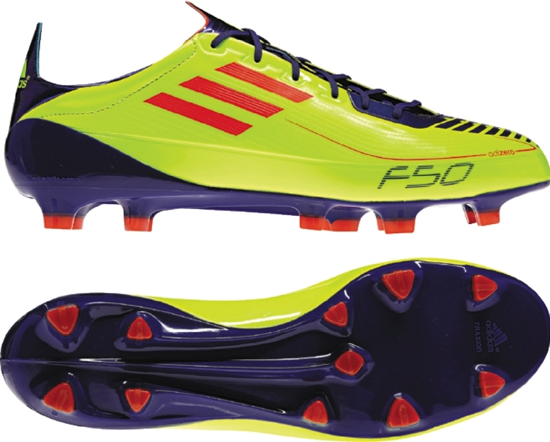 release date 58820 09f13 Adidas F50 adiZero in Electric   Adidas F50 Adizero With Black and Yellow Soccer  Cleats   Free Shipping   99.95