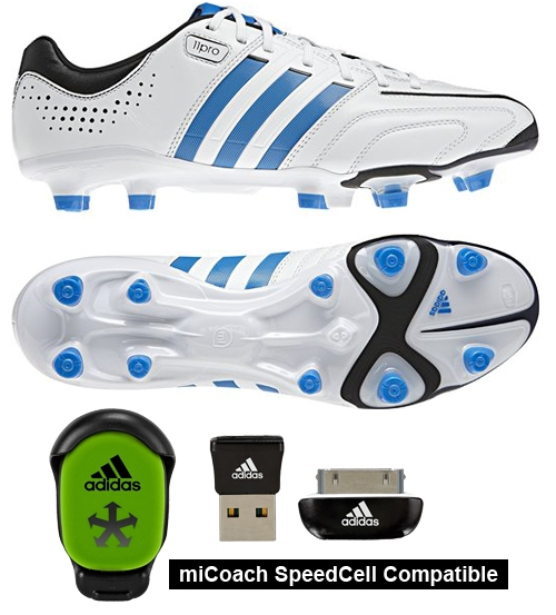 5c799508087 Adidas adipure 11Pro in White and Blue