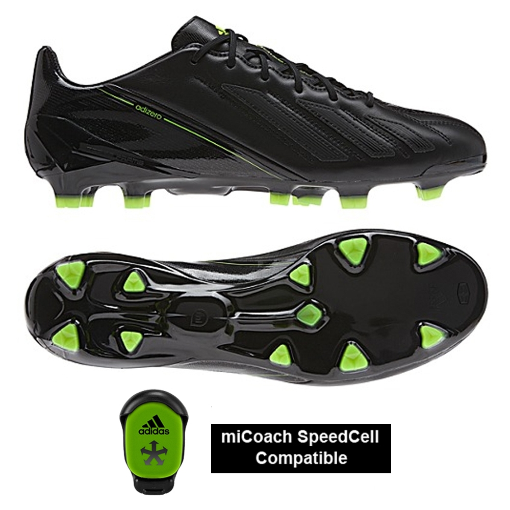 adidas f50 adizero micoach leather blackout