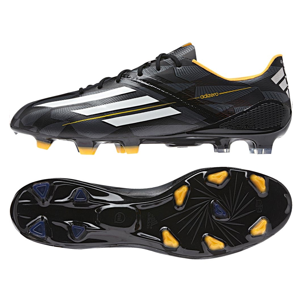 fc8bf6091 Adidas F50 adizero (Synthetic) TRX FG Soccer Cleats (Core Black Core White