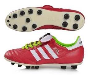 Adidas Copa Mundial FG Soccer Cleat (Vivid Berry/Running White/Solar Slime)
