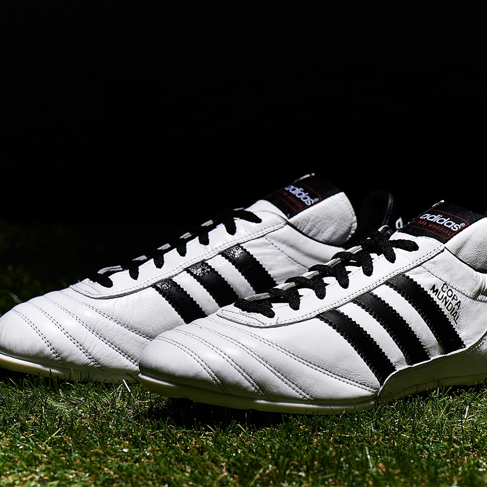detailed look 25f82 b2a3c Adidas Copa Mundial FG Soccer Cleat (Running White Black Metalic ...