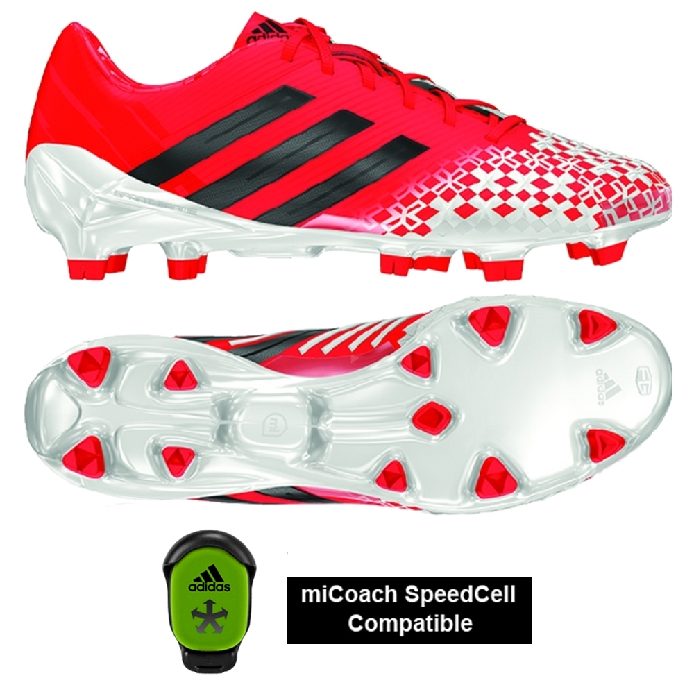 premium selection e3ed8 47093 Adidas Predator LZ TRX FG SL Soccer Cleats (Infrared/Black/Running White)