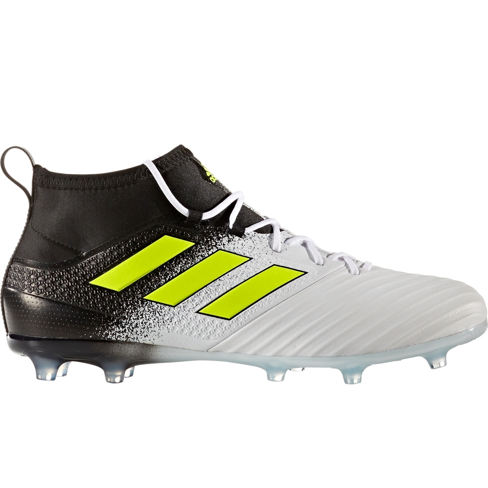 Adidas ACE 17.2 Primemesh FG Soccer Cleats (White/Solar Yellow/Core Black)