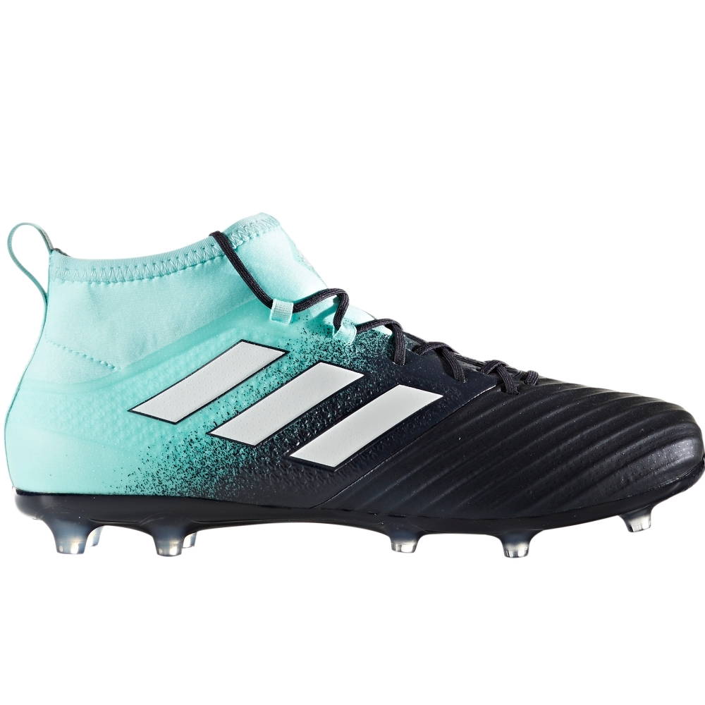 Adidas ACE 17.2 Primemesh FG Soccer Cleats (Energy Aqua/White/Legend Ink)