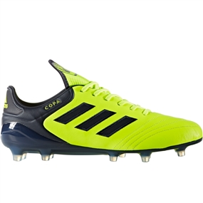 Adidas Copa 17.1 FG Soccer Cleat (Solar Yellow/Legend Ink/Semi Solar Yellow)