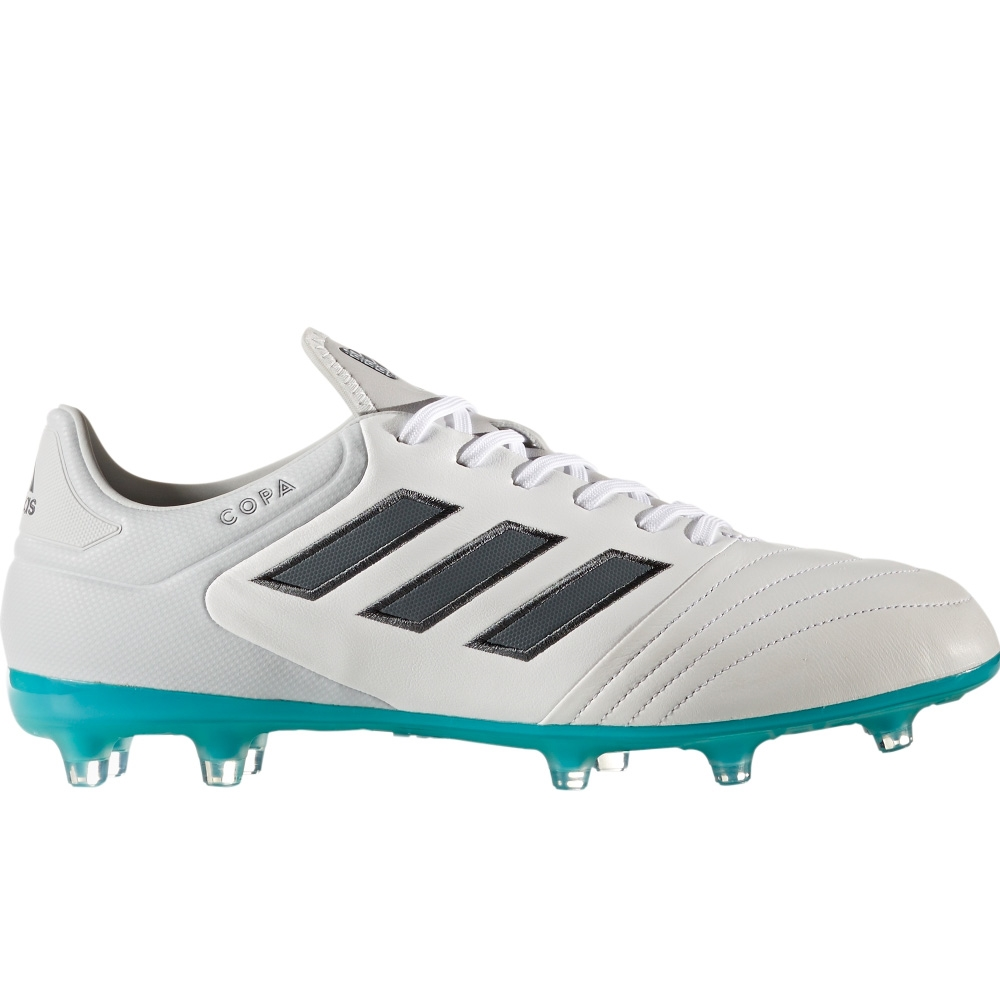 10ef22153 Adidas Copa 17.2 FG Soccer Cleat (White Onix Clear Grey) -
