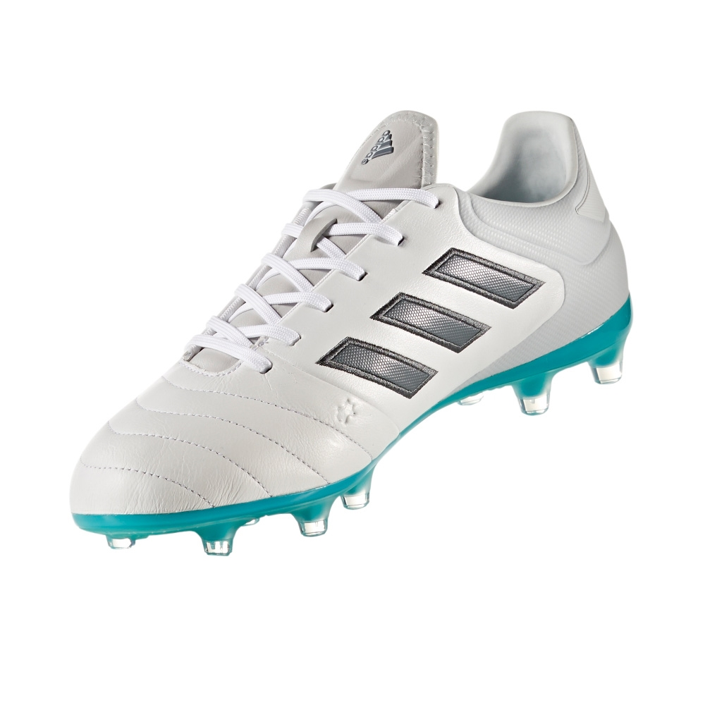 Adidas Copa 17.2 FG Soccer Cleat (White Onix Clear Grey) -  bc3ee2c60