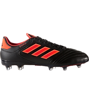 Adidas Copa 17.2 FG Soccer Cleat (Core Black/Solar Red)