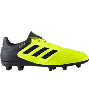 Adidas Copa 17.3 FG Soccer Cleat (Solar Yellow/Legend Ink/Legend Ink)