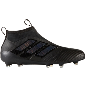 Adidas ACE 17+ Purecontrol FG Soccer Cleats (Core Black/Utility Black) | S77166