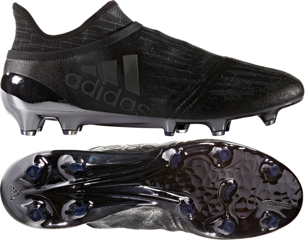 adidas black soccer boots