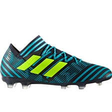 Adidas Nemeziz 17.2 FG Soccer Cleats (Legend Ink/Solar Yellow/Energy Blue) | S80595