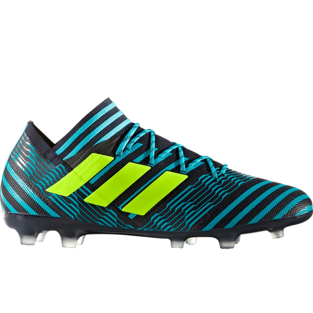 c3bf5faa1602 Adidas Nemeziz 17.2 FG Soccer Cleats (Legend Ink Solar Yellow Energy Blue)