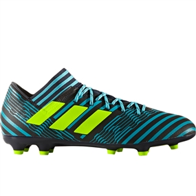 Adidas Nemeziz 17.3 FG Soccer Cleats (Legend Ink/Solar Yellow/Energy Blue) | S80601