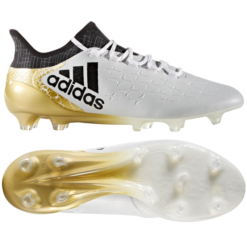 adidas soccer shoes gold and white