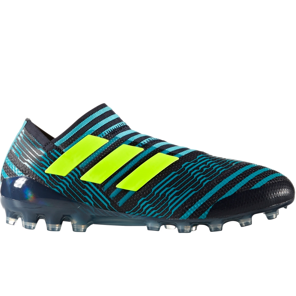 f48d0b7c6f5b Adidas Nemeziz 17+ 360Agility AG Soccer Cleats (Legend Ink Solar  Yellow Energy