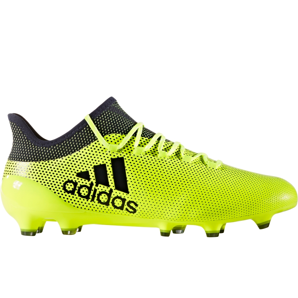 big sale 12108 fb43f Adidas X 17.1 FG Soccer Cleats (Solar Yellow/Legend Ink/Legend Ink)