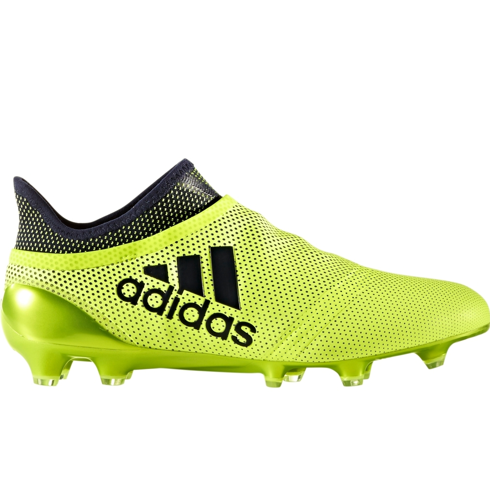 6113d5ed249c Adidas X 17+ PureSpeed FG Soccer Cleats (Solar Yellow Legend Ink Legend  Ink)