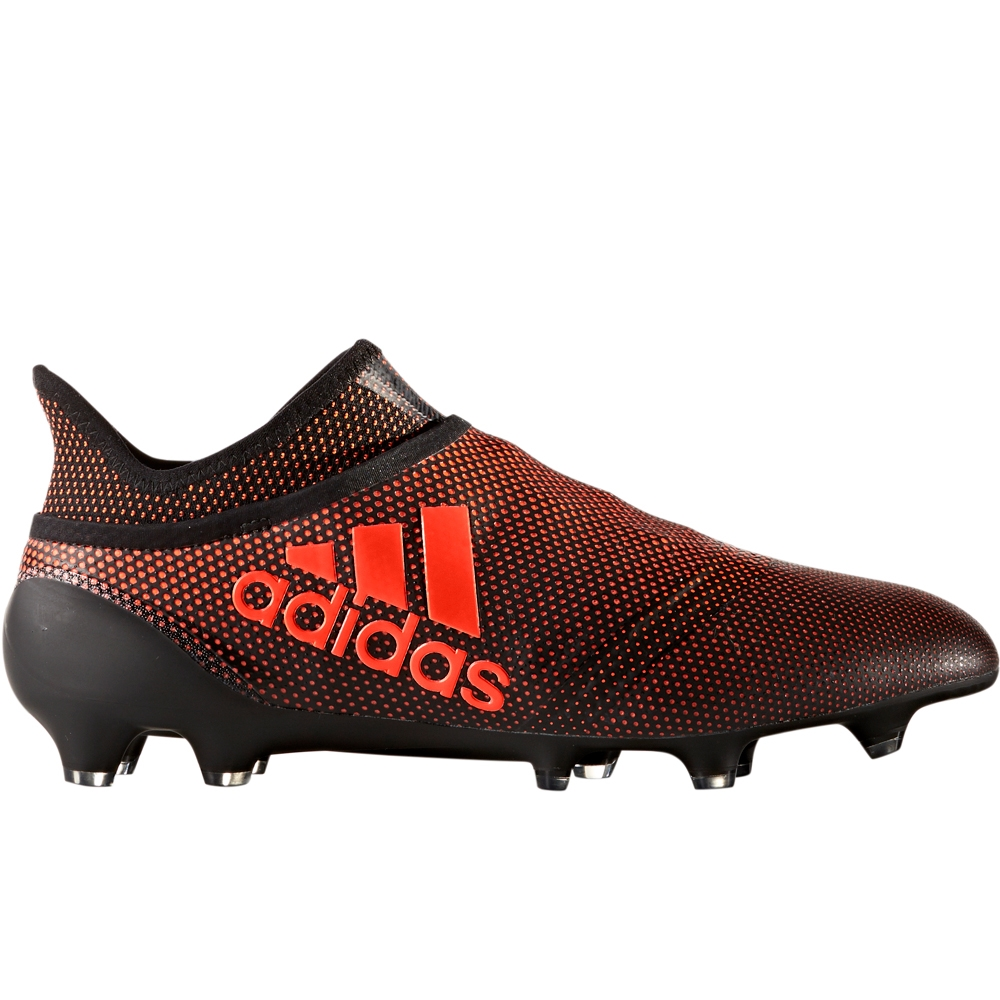 f9f87533f275 Adidas X 17+ PureSpeed FG Soccer Cleats (Core Black Solar Red Solar Orange)