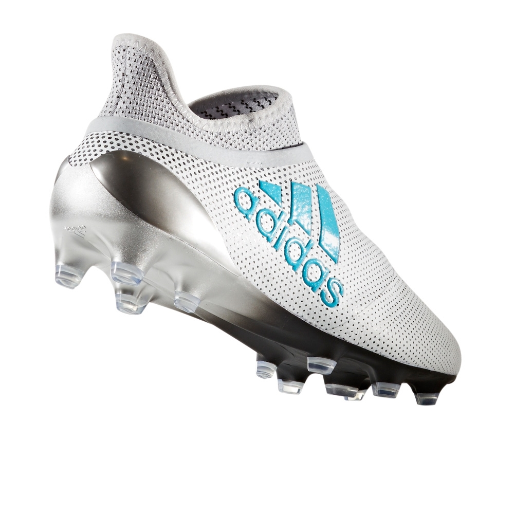 f6d71f6e8 Adidas X 17+ PureSpeed FG Soccer Cleats (White/Energy Blue/Clear Grey)