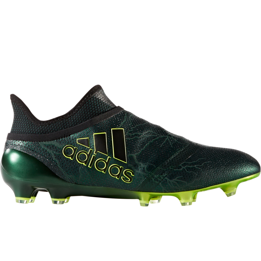 bd83b701d Adidas X 17+ PureSpeed FG Soccer Cleats (Core Black/Solar Yellow ...