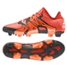 Adidas X 15.1 FG/AG Soccer Cleats (Bold Orange/White/Solar Orange)