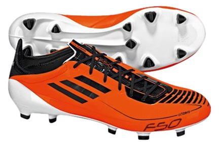 official photos 20ac8 7c616 Adidas F50 adiZero   Adidas F50 Adizero With Orange and Black Soccer Cleats    Free Shipping